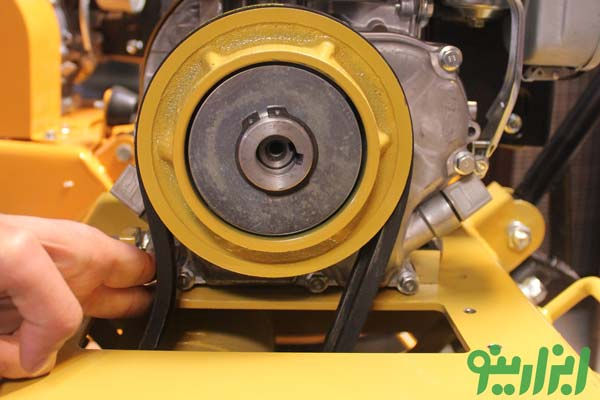 تنظیم تسمه کمپکتور هیساکی با موتور روبین