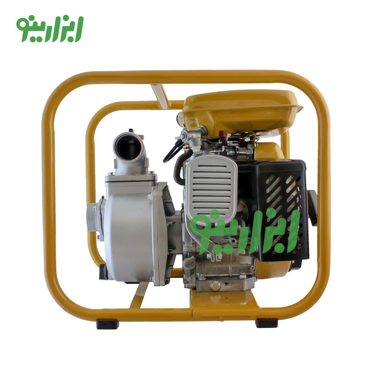 پمپ آب لوبن با سوخت بنزین
