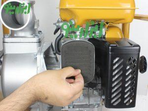 خنک کننده هوا پمپ آب بنزینی روبین