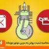 نسبت روغن به بنزین در موتورهای دوزمانه
